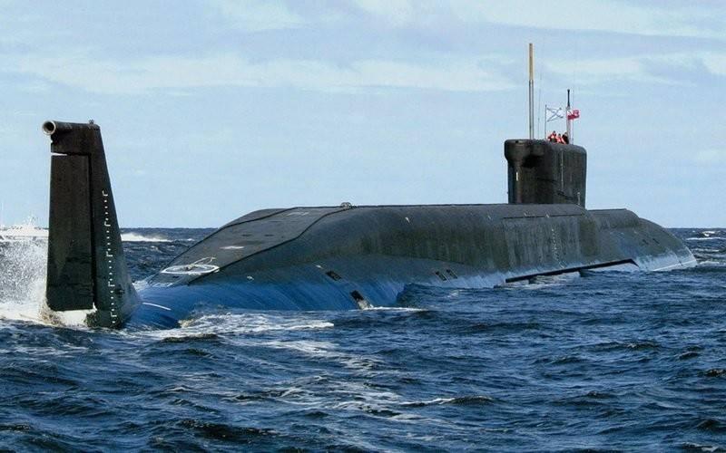 Submarino nuclear príncipe Vladimir será entregue à frota em 2019