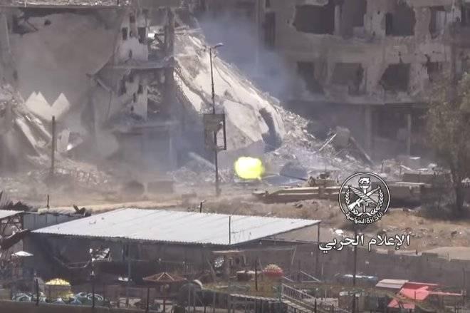 BMP-2 in der Schlacht von Damaskus