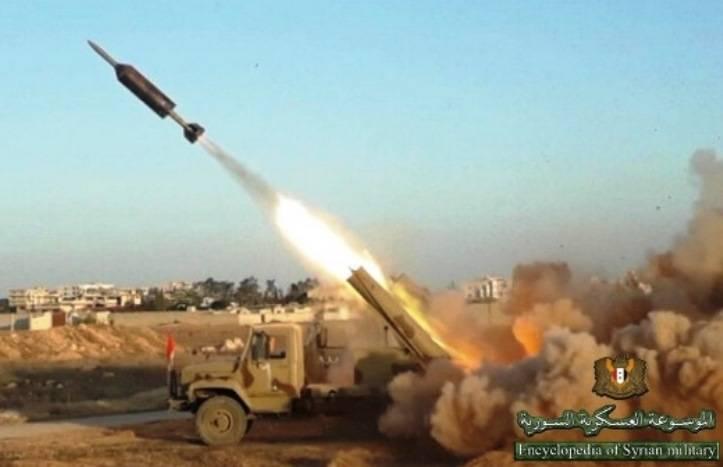 """叙利亚MRLS基于汽车""""Sadko"""""""