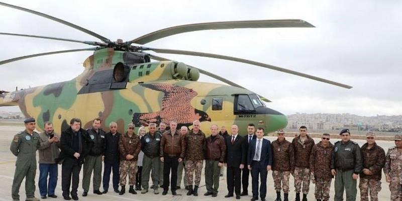 """""""하나를 쓰세요. 러시아, 요르단에 Mi-26T2 XNUMX 대 추가 공급"""