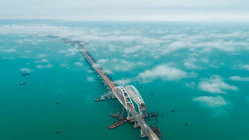Insanity was strong ... In Ukraine, they offered to take the Crimean Bridge as a contribution to the Crimea