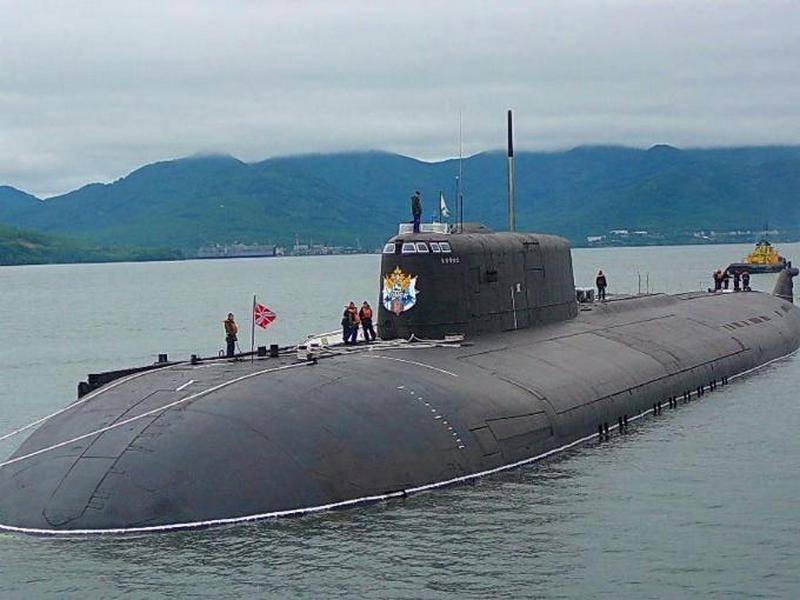 Progetto 949A Sottomarini Antey e altro. Chiamato i partecipanti alla Main Naval Parade