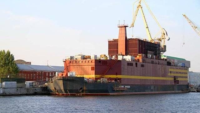 浮动核电站 - 俄罗斯北方最重要的项目