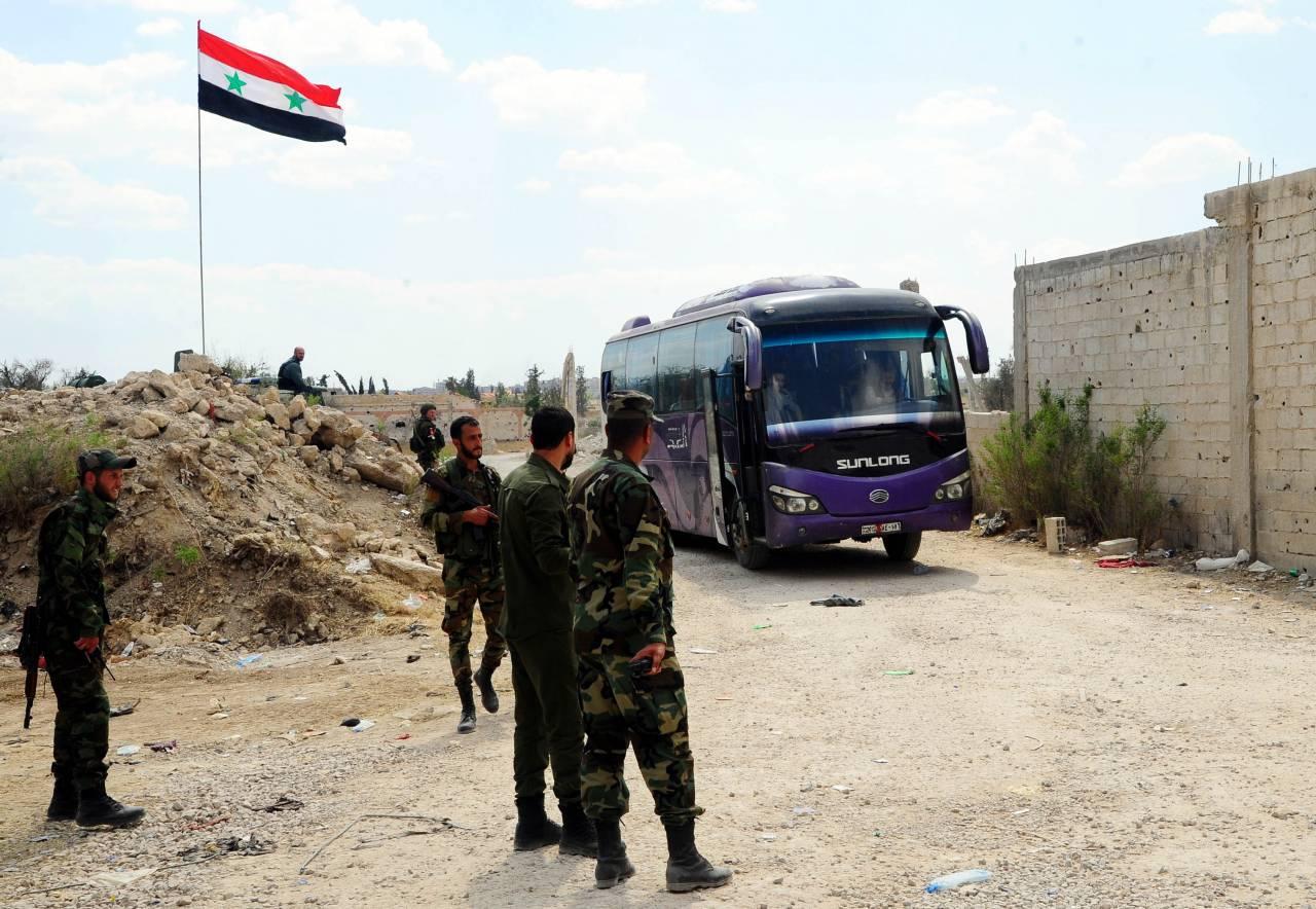 Армия Асада отбила уисламистов район наюге Дамаска