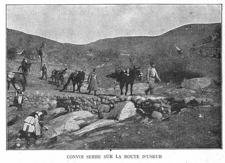 Cavalleria francese in Oriente. Parte di 2. Uskyub. L'impresa strategica della cavalleria coloniale