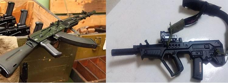 Bataille de correspondance d'Israël et de la Russie. TAR-21 ne veut pas laisser AK-103 entrer sur le marché indien