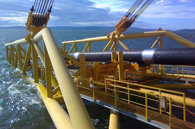İlki hazır. Gazprom, Türk Akımının açık deniz döşemesini tamamladı