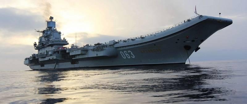 "Pantsir-MとPolyment-Redut。 ""提督クズネツォフ""に防衛システムを変更する"
