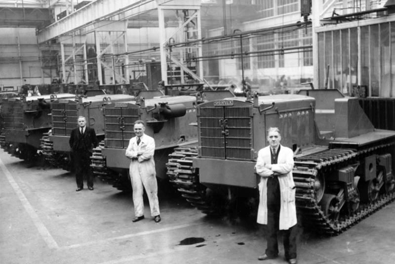 Танки, поля и арахис: тяжёлый трактор Vickers Shervick