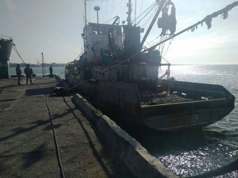 Киев гарантировал переход экипажа «Норда» в Крым