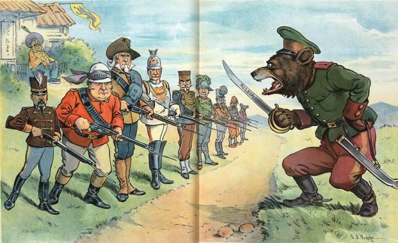 Как Запад будет поджигать Россию