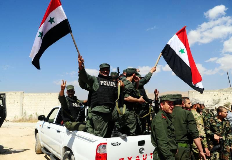 Ситуация в Сирии. Ракетный удар Запада спровоцировал вылазки террористов