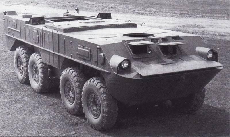 Специальное колёсное шасси «Объект 1040»