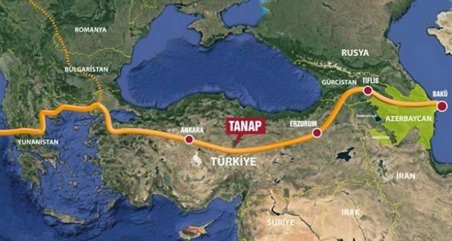 Открытие Трансанатолийского газопровода состоится 19июня