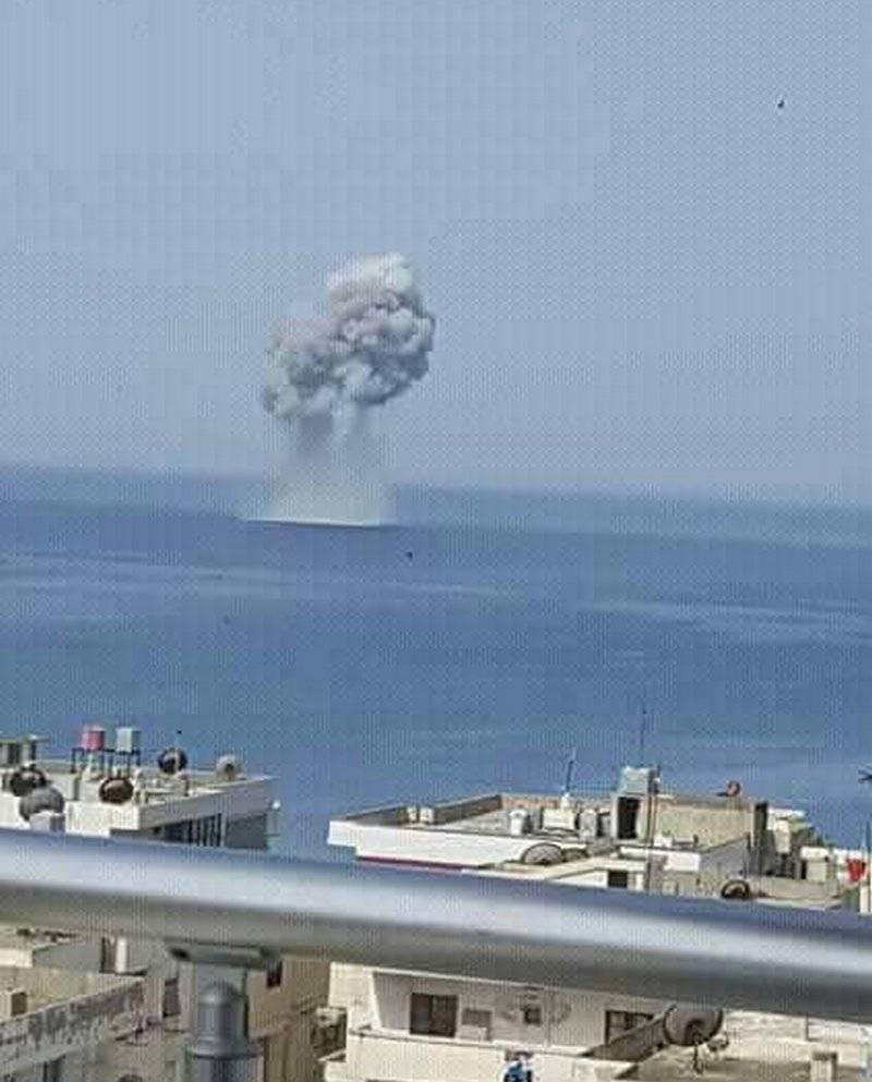 На взлете... В Сирии разбился Су-30СМ