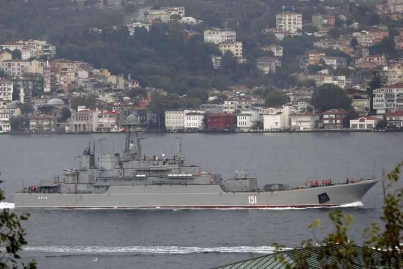 "Syrian express works! BDK ""Azov"" entered the Mediterranean Sea"