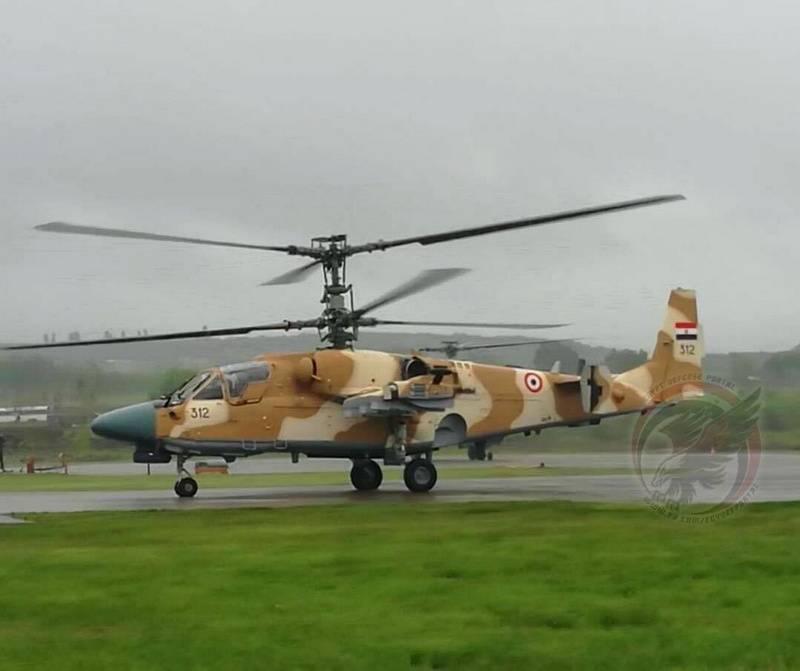 Caimanes 20. Egipto recibirá un lote de los últimos helicópteros antes de fin de mes