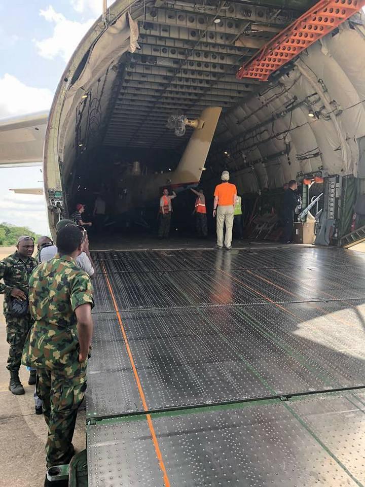 나이지리아, 또 다른 Mi-35M을 받았다.