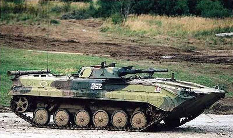 """Presque nouvellement faite. La République tchèque fournira à l'Ukraine BMP-1 et aux canons automoteurs """"Carnation"""""""