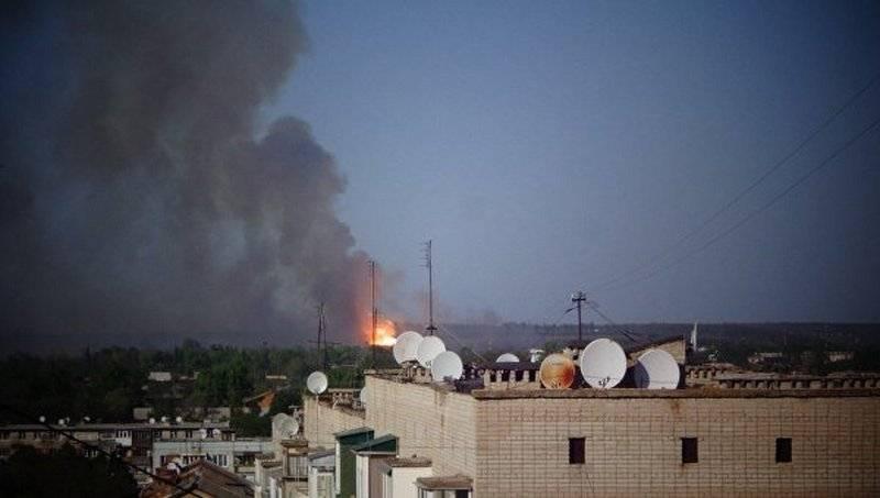 ¿Qué pasa con Rusia? En Ucrania, se expresaron tres versiones del incendio en almacenes militares en Balaklee.