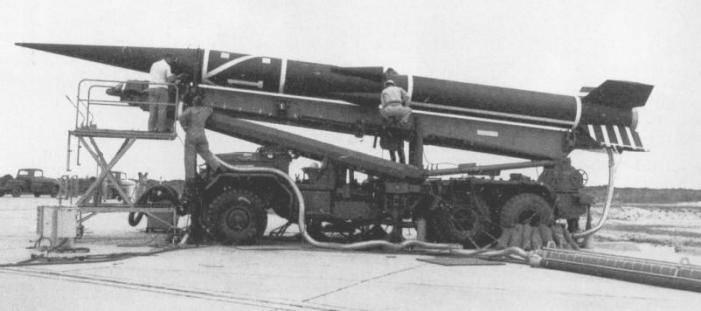 McDonnell WS-199D अल्फा ड्रेको प्रायोगिक रॉकेट (यूएसए)