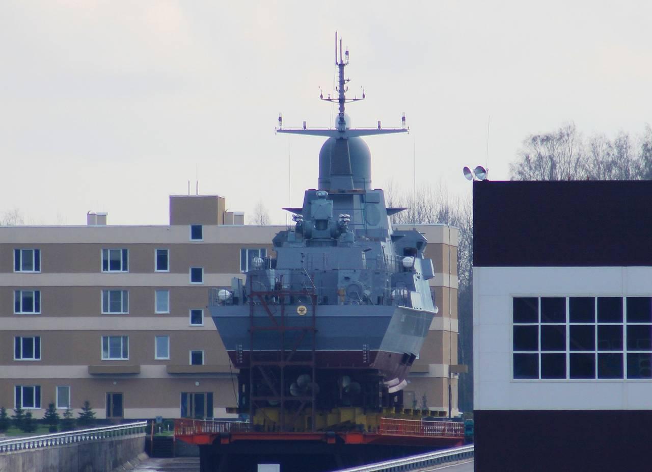5мая наводу спустят небольшой ракетный корабль «Шквал»