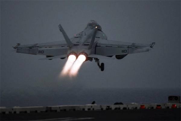 ABD AUG, Suriye'ye saldırmaya başladı