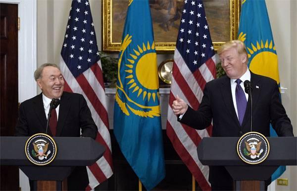 Les cargaisons militaires américaines seront acheminées par les chemins de fer au Kazakhstan. Nazarbayev autorisé