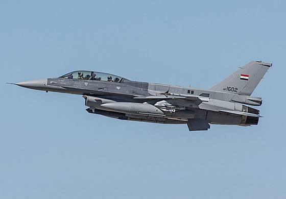 작업이 동의됩니다. 이라크 공군, 시리아의 테러 명령에 맞음