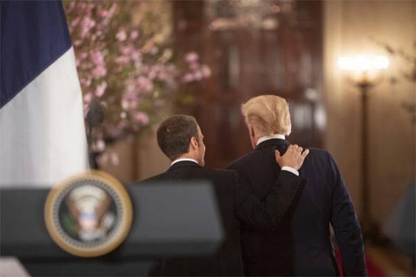 Macron: Si les États-Unis se retirent de l'accord avec l'Iran, la guerre commencera