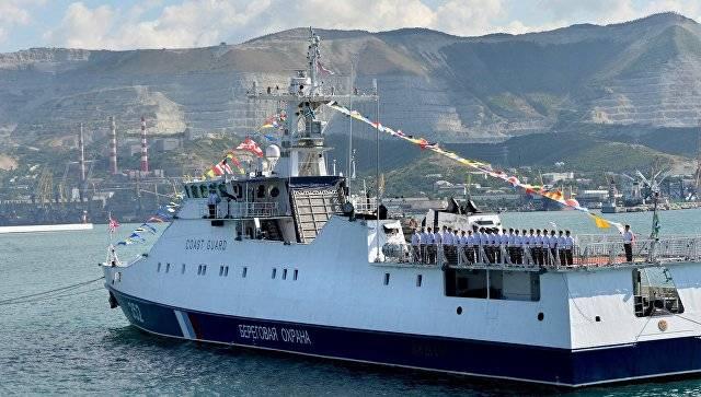 Die Beschlagnahme russischer Schiffe sollte nicht wiederholt werden. Grenzschutzbeamte werden Übungen durchführen
