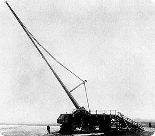 Парижская пушка кайзера Вильгельма