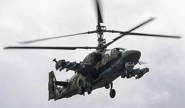 Ka-xnumx सीरिया में दुर्घटनाग्रस्त हो गया। पायलट मर गए