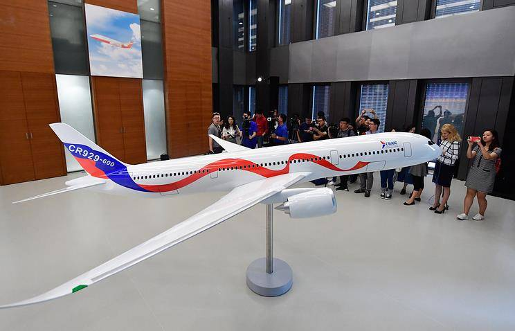 When will the Russian-Chinese CR929 fly?