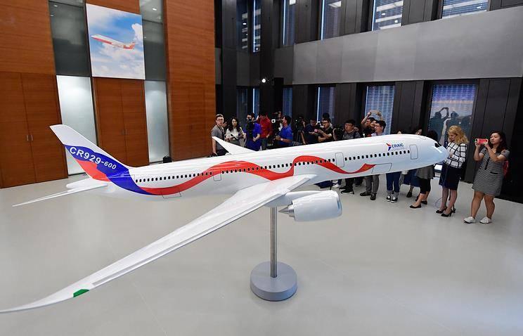 1-ый российско-китайский авиалайнер взлетит в 2025г