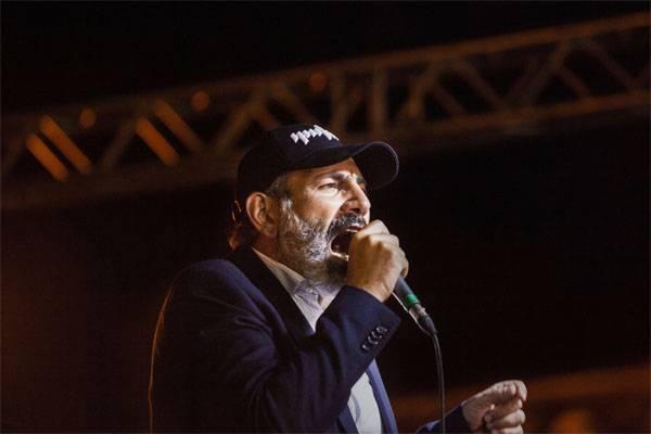Армянский праздник начинается? Пашинян стал премьер-министром Армении