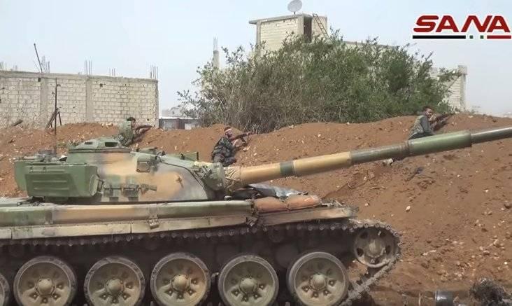 """En Siria, notó el """"explosivo"""" T-72 """"Ural""""."""