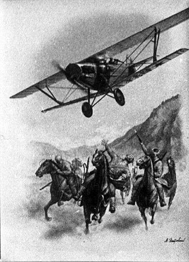 内战中的红军航空。 战斗使用的一些功能