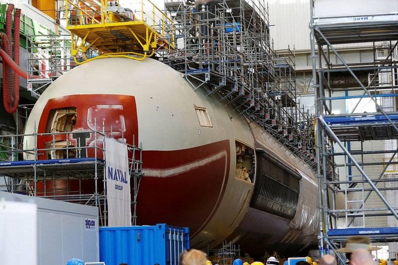 """Otro """"Barracuda"""". París decidió construir un quinto submarino nuclear."""