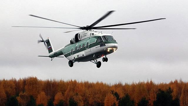 새로운 수륙 양용 Mi-38T 테스트 준비