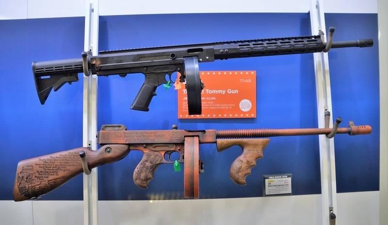 """अब """"सामरिक।"""" अमेरिका में थॉम्पसन पनडुब्बी बंदूक लॉन्च की गई"""