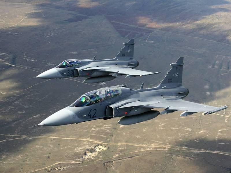 """巴西的""""瑞典人""""。 鹰狮战斗机元素将在圣保罗生产"""