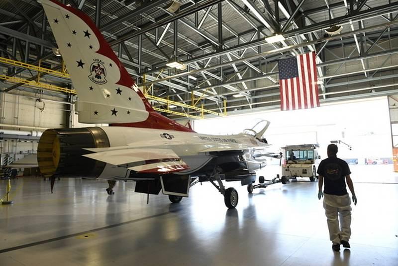 İlk geri yüklendi. Amerika Birleşik Devletleri'nde F-16 avcı uçağı arttırılmış bir uçuş kaynağına sahip oldu