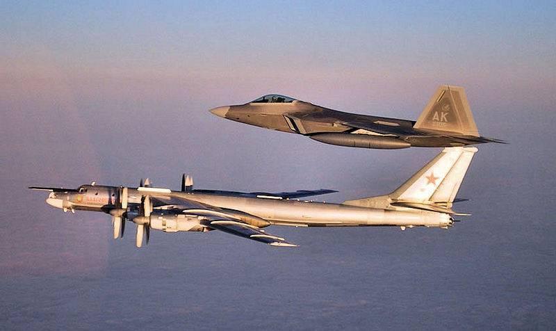 Betrat den Verantwortungsbereich von NORAD. Die Vereinigten Staaten haben das Abfangen des russischen Tu-95 angekündigt