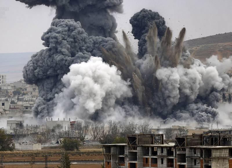Vous avez encore manqué? La coalition américaine frappe deux villages syriens