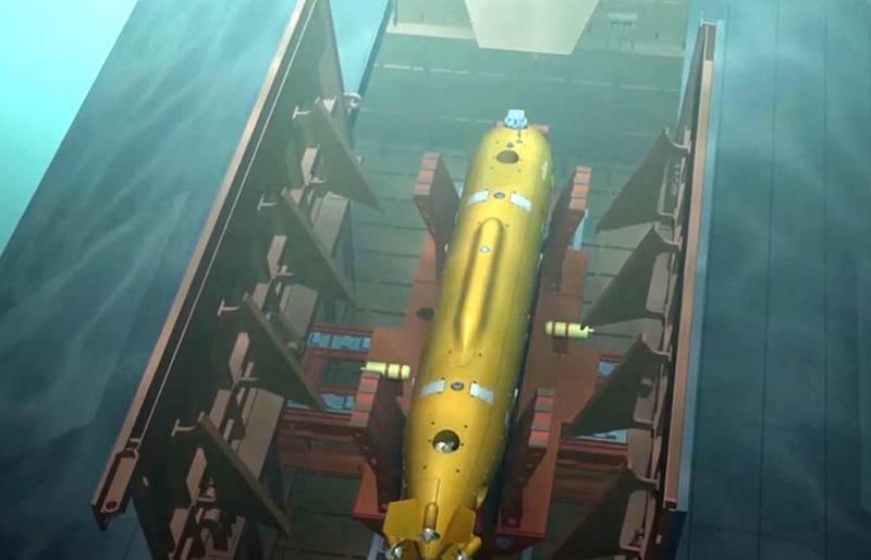 En el nuevo transportista. La Armada rusa recibirá vehículos Poseidon hasta 2027