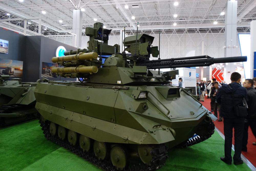 «Революционное вооружение»: The National Interest оценил русские роботы-танки
