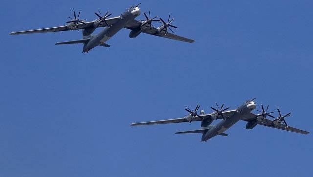 ВМинобороны поведали осопровождавших Ту-95 американских истребителях