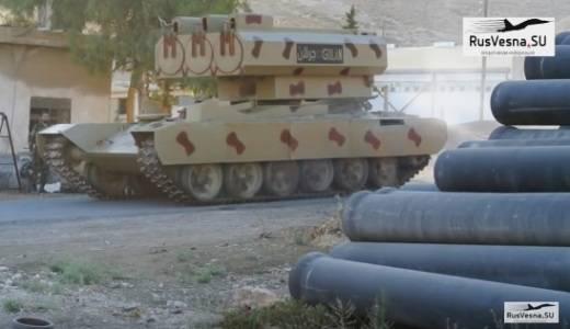 "Syrians revealed some secrets of the ""rocket monster"""