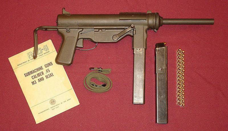 Under 9x19 mm. US Army interested in submachine guns